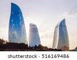 baku azerbaijan july 8 2016... | Shutterstock . vector #516169486