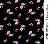 Pretty Ditsy Flower Print  ...