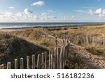 Path In The Dunes Towards The...