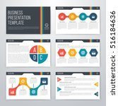 infographics presentation... | Shutterstock .eps vector #516184636