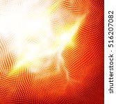abstract technology pattern... | Shutterstock .eps vector #516207082