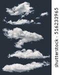 Isolated Clouds Dark Background - Fine Art prints