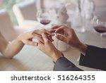 Man Making Marriage Proposal T...