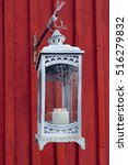 Old Fashioned Lantern With...