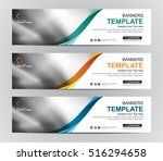 abstract banner design... | Shutterstock .eps vector #516294658