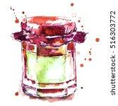 jar of jam   Shutterstock . vector #516303772