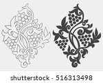 vector illustration with... | Shutterstock .eps vector #516313498