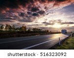 truck on the road | Shutterstock . vector #516323092