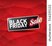 vector black friday sales tag...   Shutterstock .eps vector #516335122