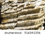 Layered Rock Formation Folds O...