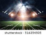 american soccer stadium  3d... | Shutterstock . vector #516354505