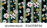 Stock vector seamless floral pattern in vector 516358936