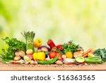 organic vegetables | Shutterstock . vector #516363565