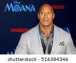 dwayne johnson at the afi fest... | Shutterstock . vector #516384346