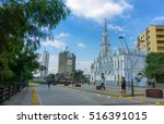 cali  colombia   june 11  view...   Shutterstock . vector #516391015