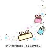 party corner embellishment | Shutterstock .eps vector #51639562