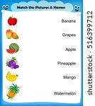 preschool worksheet for kids....   Shutterstock .eps vector #516399712