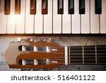 Piano And Tuning Peg Guitar...