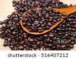 roasted coffee beans | Shutterstock . vector #516407212
