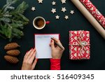 Christmas Table With Various...
