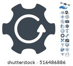 rotate gear icon with bonus... | Shutterstock .eps vector #516486886