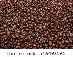 roasted coffee beans | Shutterstock . vector #516498565