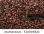 roasted coffee beans | Shutterstock . vector #516505822