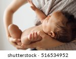 newborn baby maternity love... | Shutterstock . vector #516534952