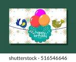Birthday Card Template Colorfu...