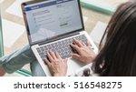 bangkok  thailand november 16 ... | Shutterstock . vector #516548275