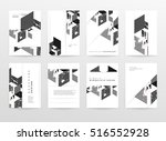 geometric background template... | Shutterstock .eps vector #516552928