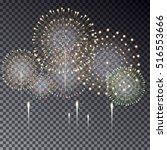 Festive Transparent Firework...