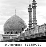 blur in iran  and old antique... | Shutterstock . vector #516559792