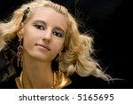 portrait of young beautiful... | Shutterstock . vector #5165695