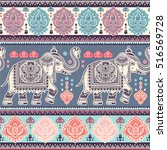 vintage graphic vector indian... | Shutterstock .eps vector #516569728