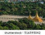 Top View Sandamuni Paya Pagoda...