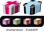 holiday gift boxes in variety...