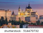 Madrid. Image Of Madrid Skylin...