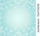 christmas background  | Shutterstock .eps vector #516710236