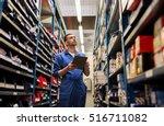 car service  repair ... | Shutterstock . vector #516711082