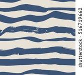 seamless pattern. blue hand... | Shutterstock .eps vector #516719662