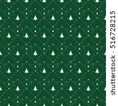 Christmas Pattern With Small...