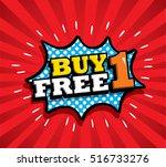 sale vector design  patches in... | Shutterstock .eps vector #516733276