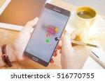 bangkok  thailand   november 15 ... | Shutterstock . vector #516770755