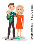 illustration cartoon  beautiful ... | Shutterstock .eps vector #516771508