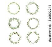laurels and wreaths | Shutterstock .eps vector #516802246