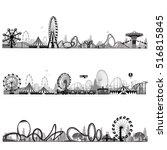 vector illustration.roller... | Shutterstock .eps vector #516815845