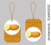 vector illustration of logo for ... | Shutterstock .eps vector #516842032