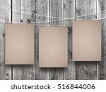 Three Blank Canvas Frames...