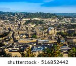 Hdr Aerial View Of The City Of...